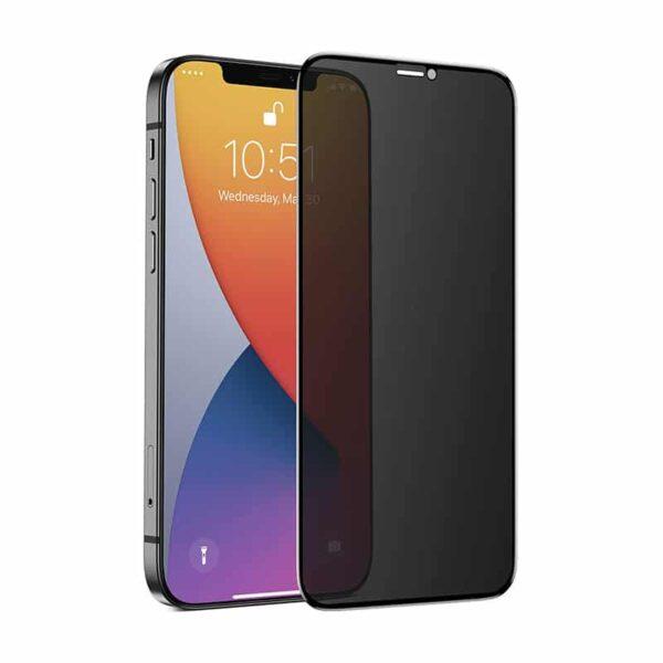 Premium Privacy Panzerglas iPhone 12 Pro Max